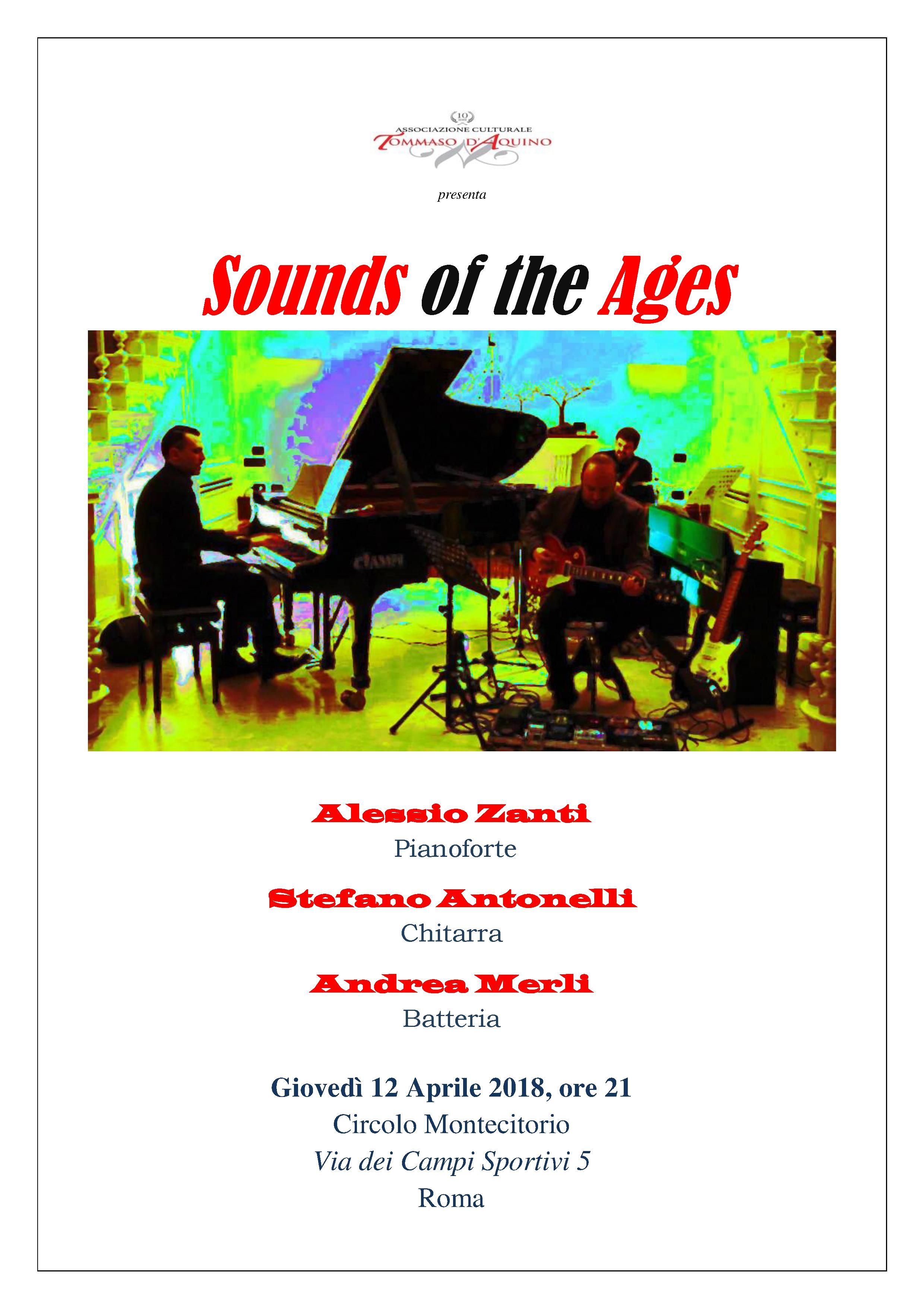 SOUNDS OF THE AGES – Concerto Rock a Roma