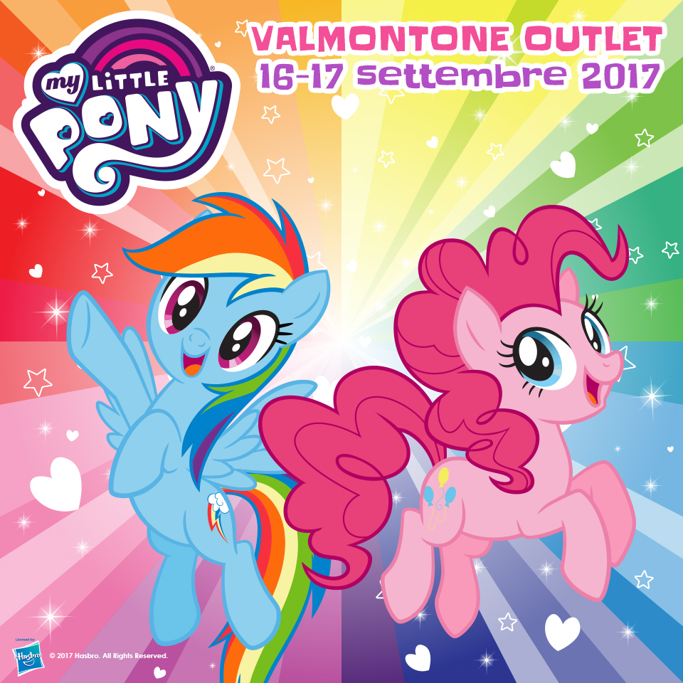 My Little Pony a Valmontone OUTlet