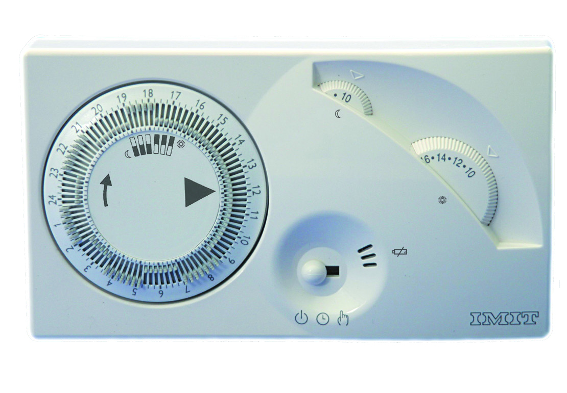 Il nuovo cronotermostato CRONOMIX-S di IMIT Control System. Linee classiche e cuore tecnologico