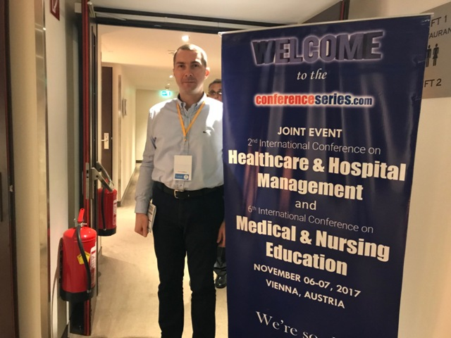 Deputy CEO for ISIDA-IVF Clinic's Strategic Development Oleg Petrenko took part in the international conference in Vienna