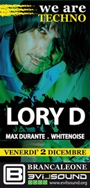 Lory D @ We Are Techno w Max Durante - 02/12/2011 - Roma