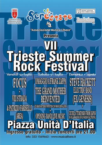 Steve Hackett chiude il Summer Rock 2010!