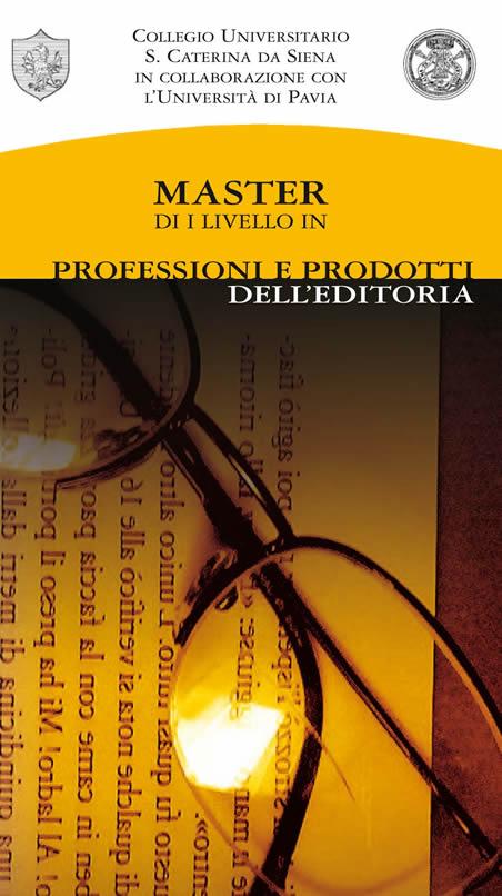 """""""Master in professioni e prodotti dell'editoria"""", pubblicato il nuovo bando"""