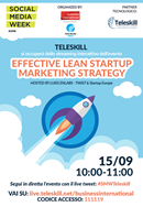 Effective Lean Startup Marketing Strategy. Streaming con Teleskill