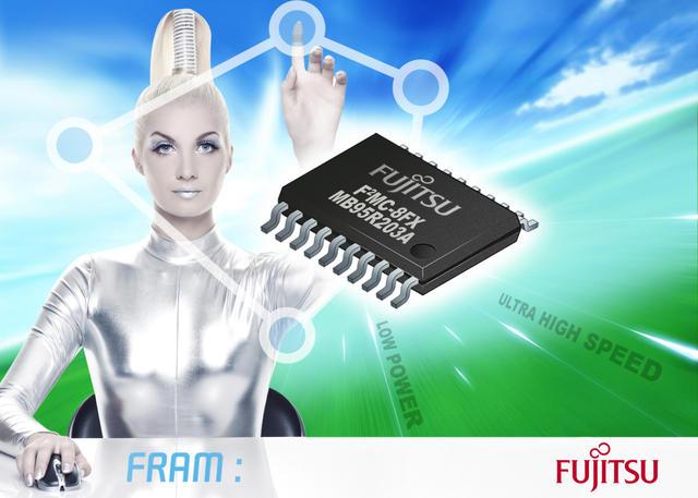 MCU a 8 bit di seconda generazione con FRAM embedded di Fujitsu offre prestazioni uniche
