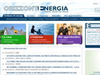 É nato un nuovo portale dedicato all'energia per una nuova informazione www.orizzontenergia.com