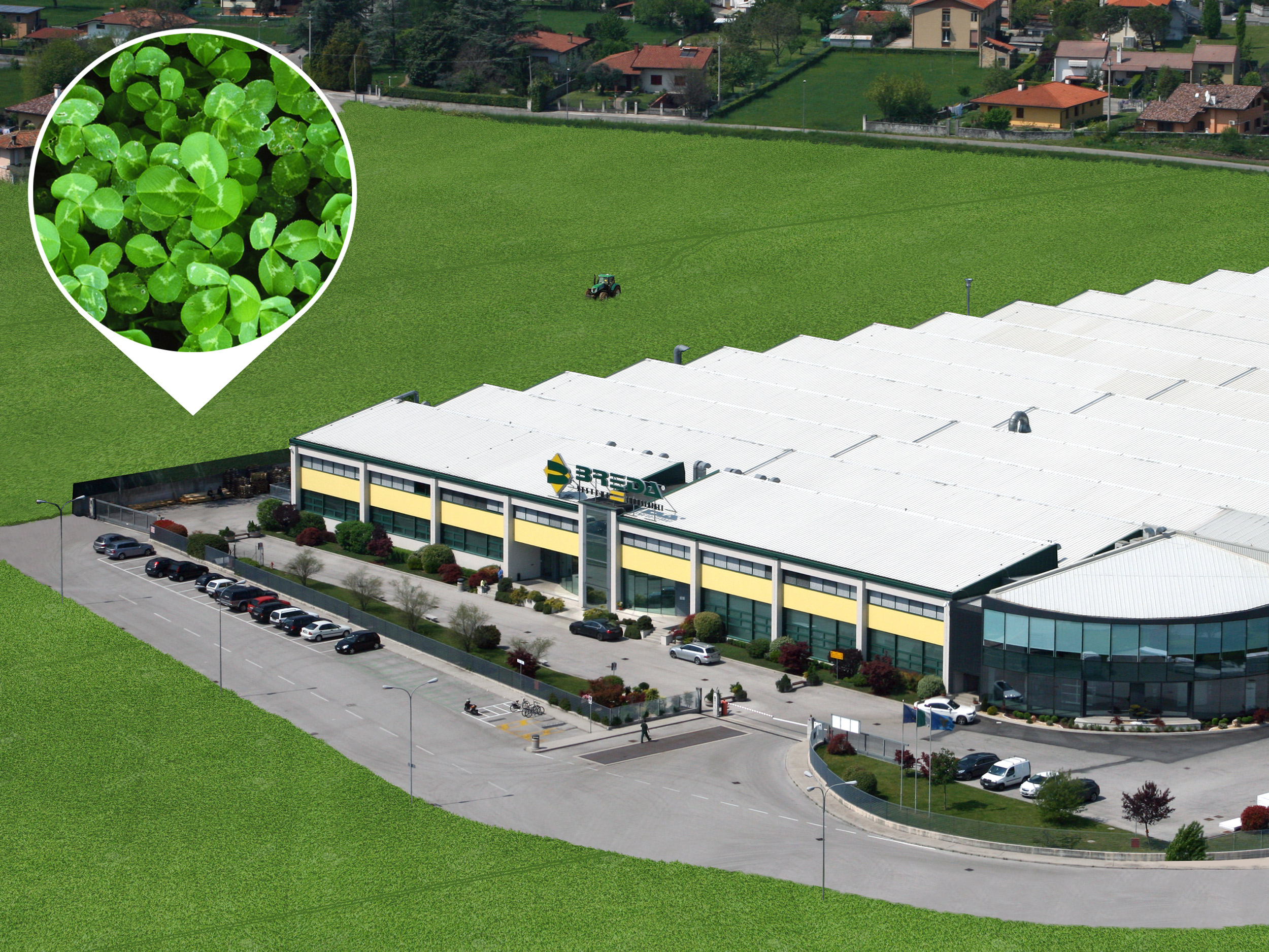 Uno speciale trifoglio sar il carburante green di breda for Breda portoni