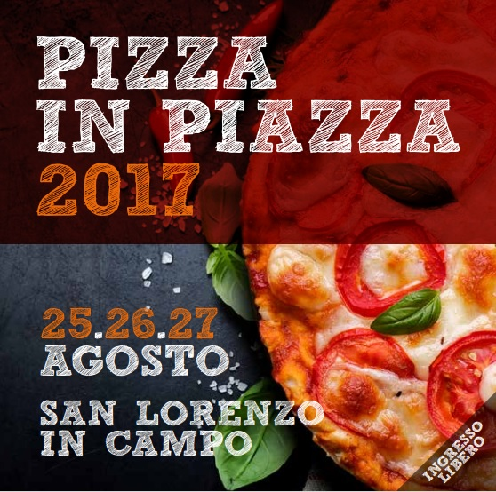 San Lorenzo in Campo per un intero week-end capitale della pizza. A Pizza in Piazza la Nazionale Pizzaioli e Andreas vincitore di Amici