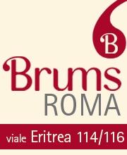 BRUMS Roma, nuovo negozio in Viale Eritrea.