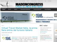 Anteprima MADEINCONGRESS al Virtual Travel Market Italia, la prima fiera online del turismo italiano: dal 21 al 30 Marzo 2011
