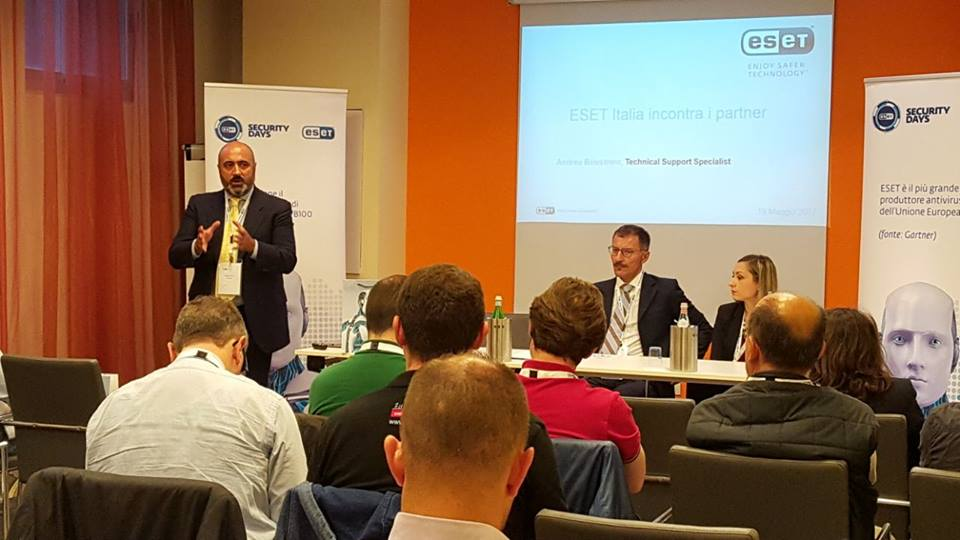 ESET rafforza la strategia sul canale: al via gli ESET Partner Meetings