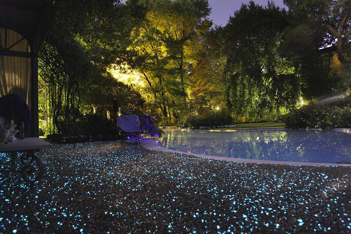 Pavimenti fluo per giardini nuove soluzioni firmate paghera - Pavimento per giardino ...