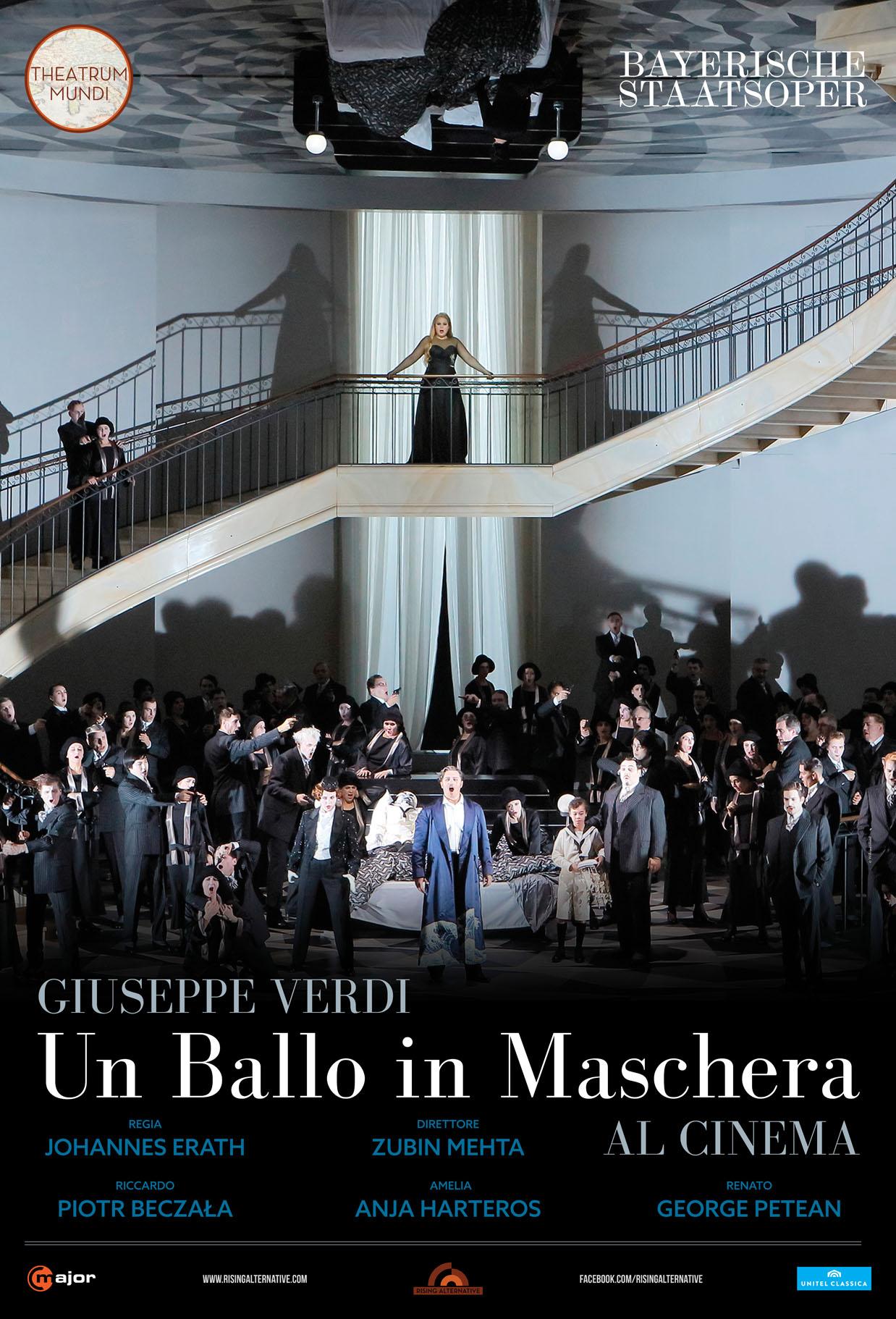 Theatrum Mundi: Un ballo in maschera di Giuseppe Verdi diretto dal maestro Zubin Metha al cinema