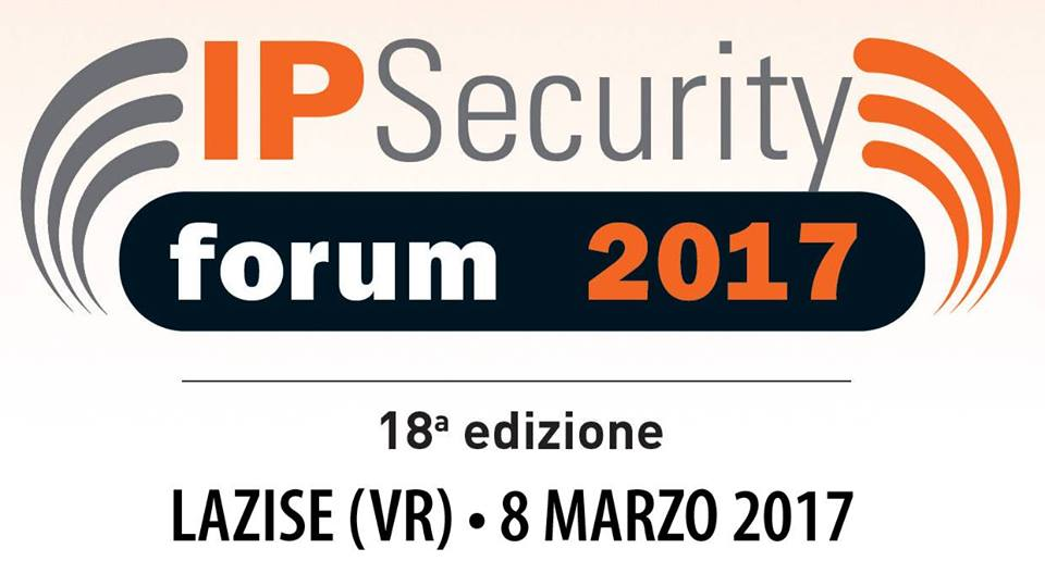 Videosorveglianza e Privacy ad IP Security Forum Lazise