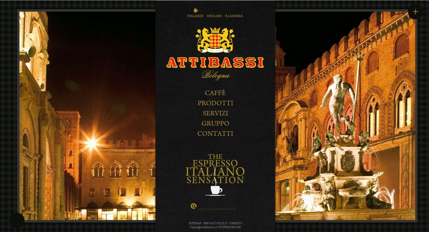 Online il nuovo sito web di Caffè Attibassi