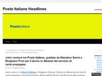 Joint venture Poste con Shqiptare Post per servizio carte prepagate in Albania
