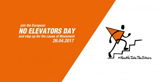 Il 26 aprile è il giorno senza l'ascensore
