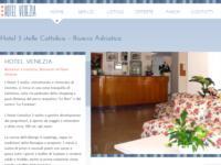 E' online il sito dell'Hotel Venezia di Cattolica!