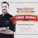"One Day Chef presenta l'evento unico ""Una lezione di cucina con Chef Rubio"""