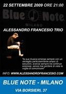 Blue Note - Milano - nuovo concerto del pianista Alessandro Francesio
