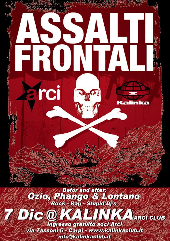 Questa settimana doppio appuntamento con la musica live al Circolo ARCI KALINKA di Carpi (MO)