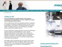 Pronova BioPharma ASA : Presentation of Q1 2012 results 11 May, 08:30 CET