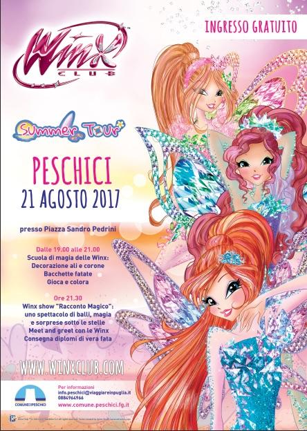 Winx summer tour Peschici