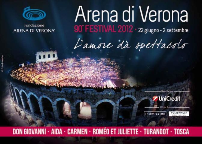 UniCredit porta l'Arena più vicina a te per il Festival Lirico 2012
