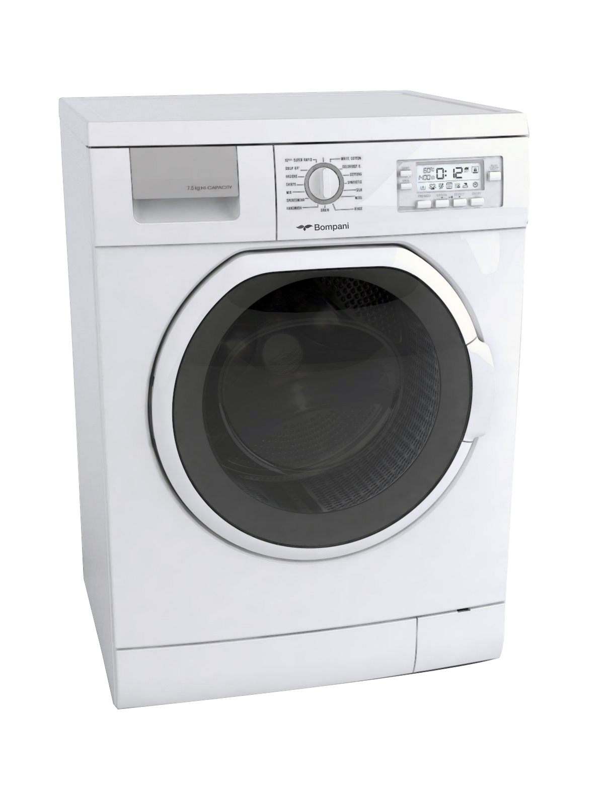 Lavabiancheria BOMPANI: efficienza energetica racchiusa in un design accattivante e moderno per uno stile personalizzato