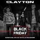 Al via il Black Friday di Clayton abbigliamento uomo