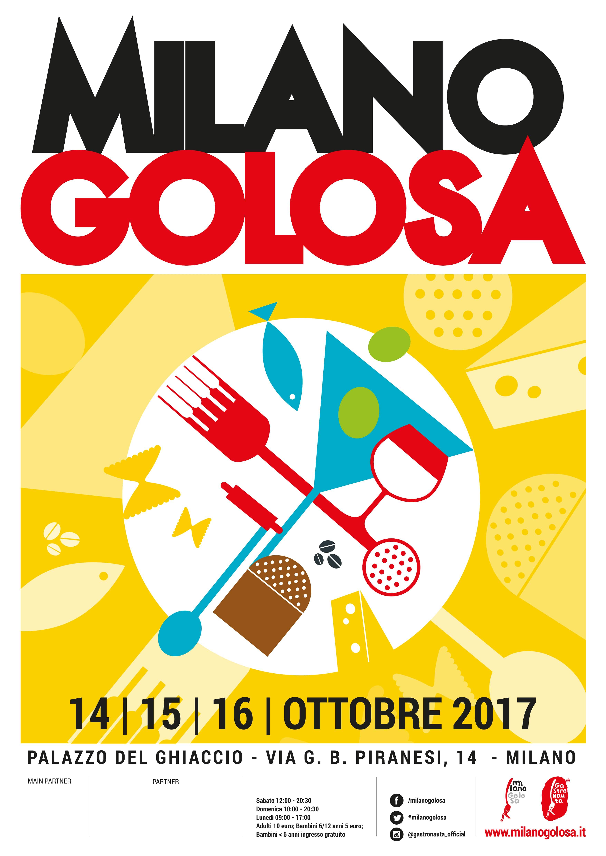 MILANO GOLOSA 2017: UN'EDIZIONE ANCHE DA BERE
