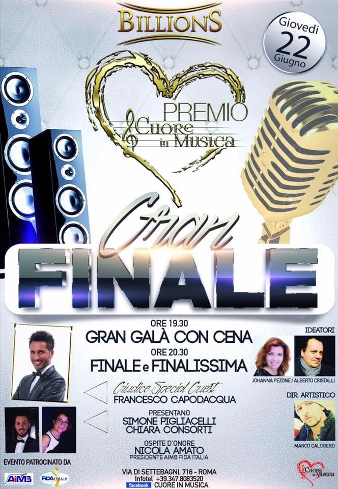 Finale Premio Cuore in Musica