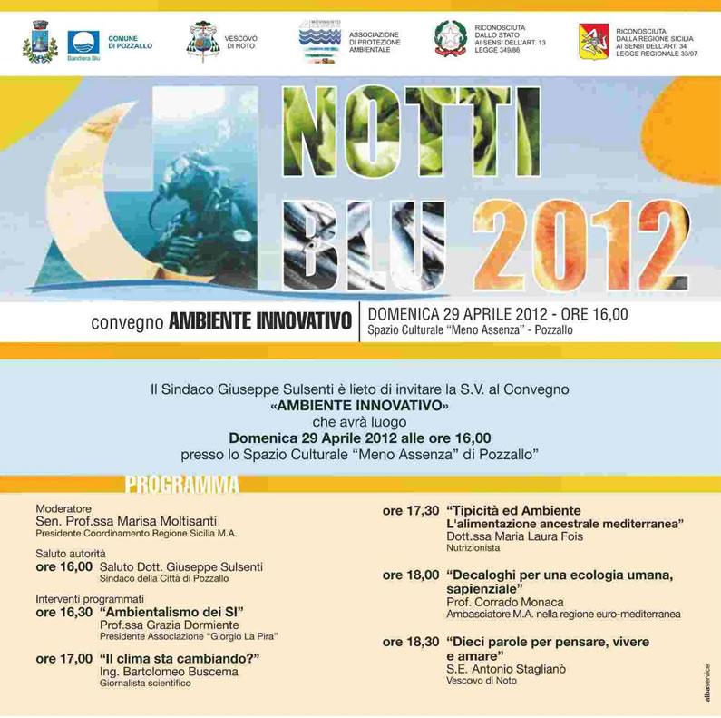 """""""Ambiente innovativo"""", l'ecologia umana al centro di un convegno organizzato dal Movimento Azzurro"""