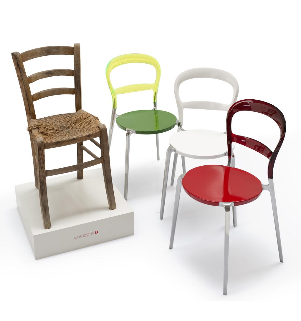 Calligaris celebra l unit d italia con una inedita sedia wien - Sedia wien calligaris ...