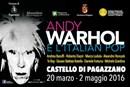 """Valorizzazione del territorio: Inda promuove la mostra """"Andy Warhol e l'Italian Pop"""""""
