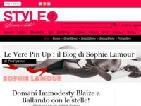 Genova sensuale con Burlesque Attitude di Sophie Lamour a marzo!