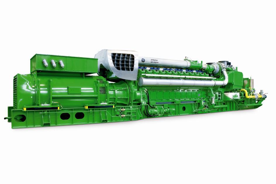GE Energy introduce i nuovi generatori a gas Jenbacher da 4 megawatt