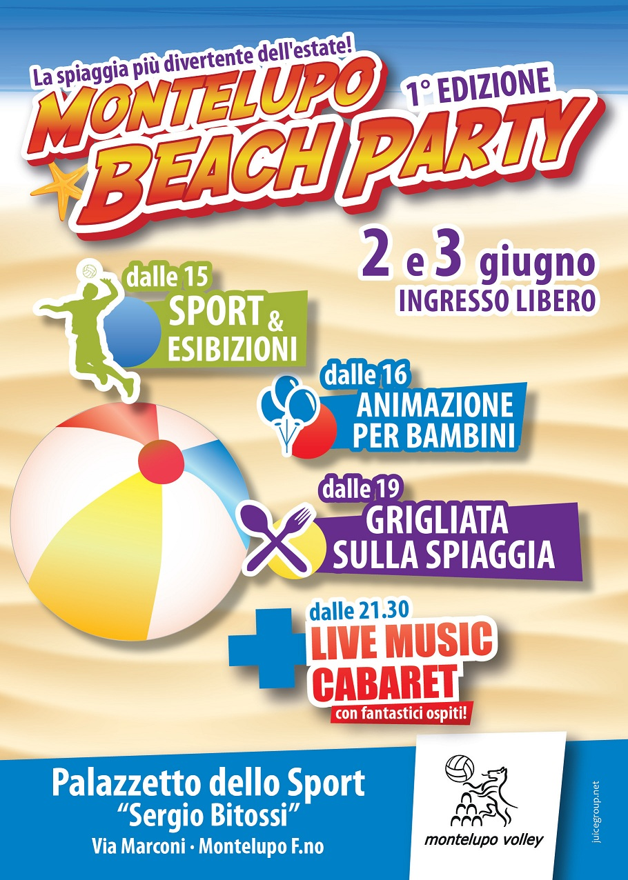 1° Montelupo Beach Party