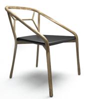 Alma Design presenta MARNIE, la prima sedia in legno della collezione