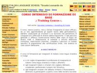 Corsi intensivi per insegnanti di italiano a Firenze, Roma e Milano