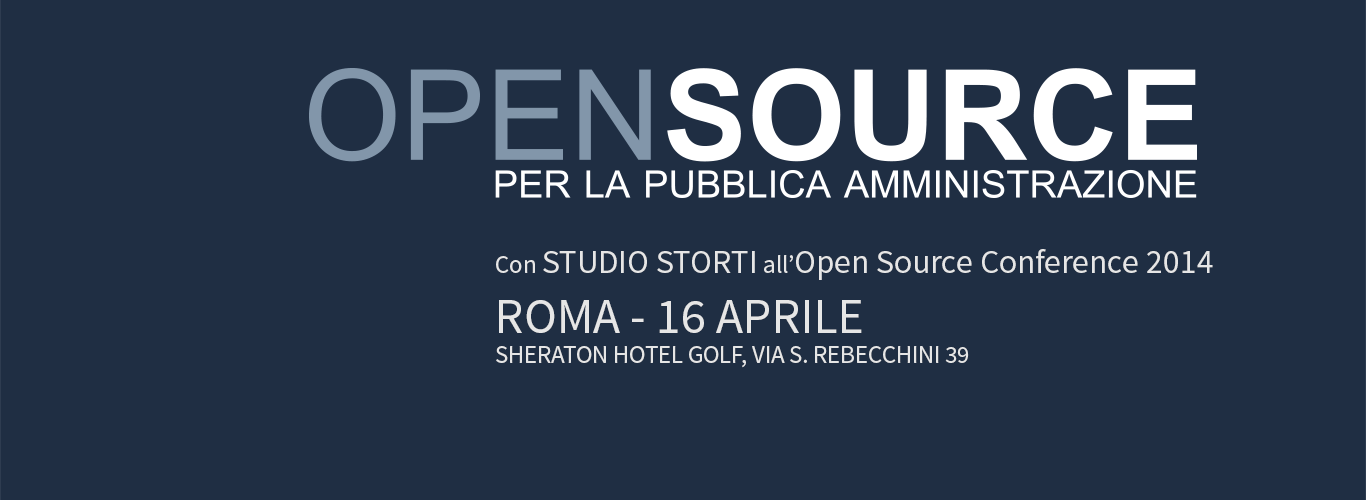 Open Source Conference 2014 - Roma 16 aprile