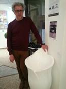 Milano Art Gallery: il designer Matteo Zallio in mostra con Alviero Martini