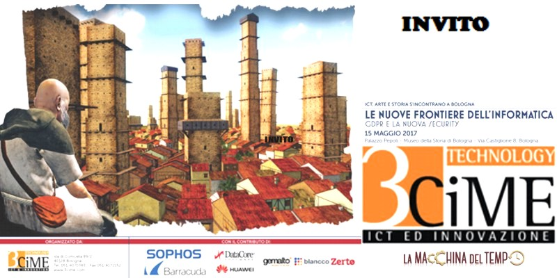 """3CiME Technology vi invita all'evento ICT dell'anno """"GDPR e la Nuova Security"""""""