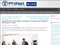 INPS App - al Forum PA 2012 INPS Mobile Innovare per avvicinare