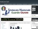 Il segretario nazionale del Sindacato Nazionale Guardie Giurate il 6 maggio a Caserta