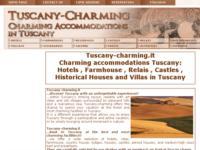 Tuscany-charming.it soggiornare in Toscana nelle migliori strutture di charme