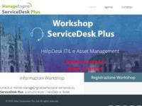 http://www.manageengine.it/seminar/workshop-servicedesk-plus-2016.html