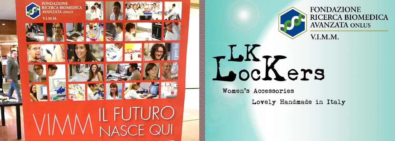 LK-Lockers – Accessori in pelle: anche quest'anno presente all'asta di Beneficenza del VIMM