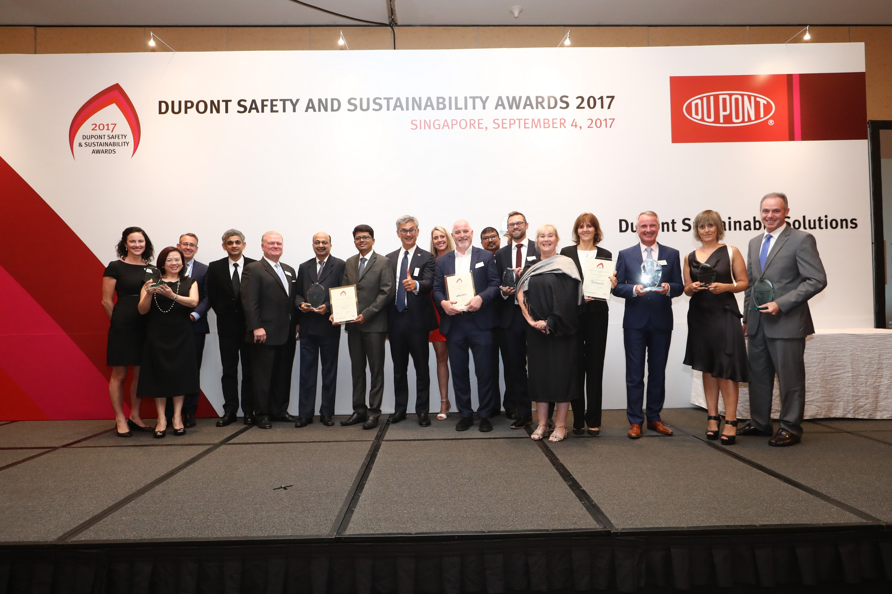 DuPont Sustainable Solutions annuncia i vincitori dei Safety and Sustainability Awards 2017