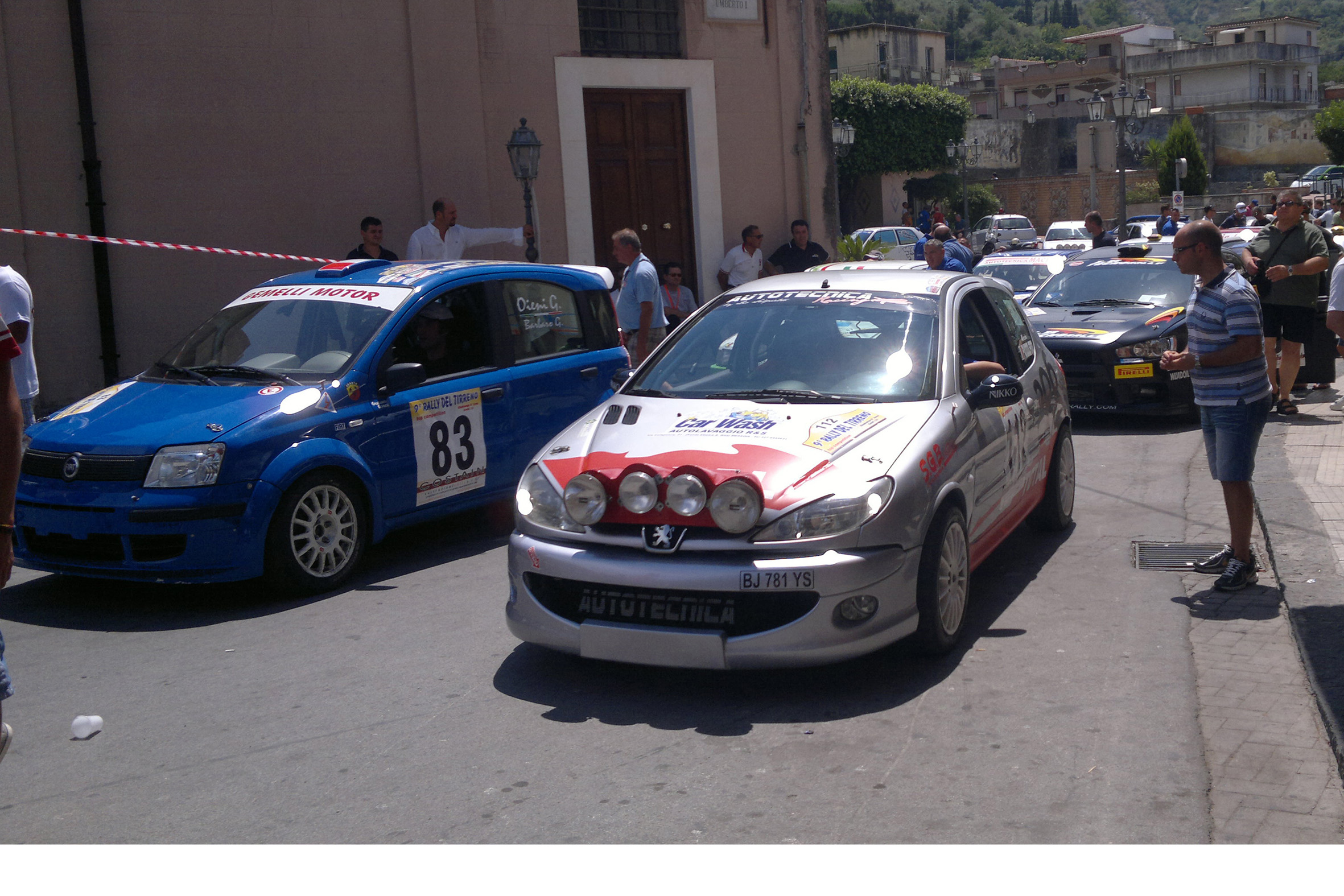 IL 9° RALLY DEL TIRRENO PRONTO ALLO START